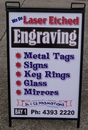 Metal and Corflute A-Frame Sign