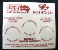 Windscreen Saver Patches