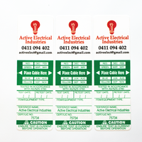 Custom Printed Security Sealed Test Tags
